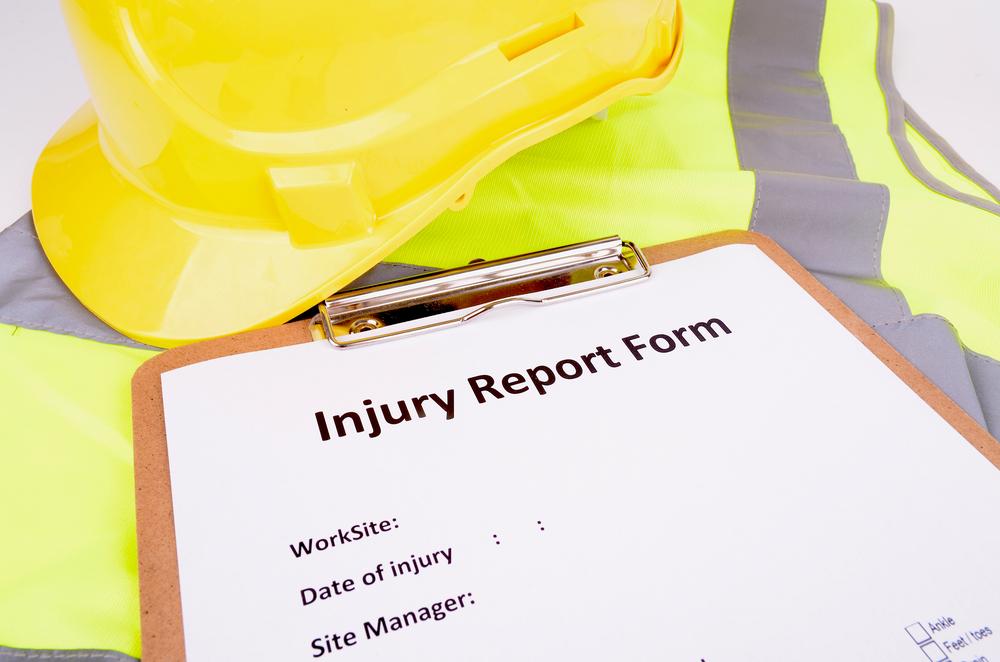injury report form